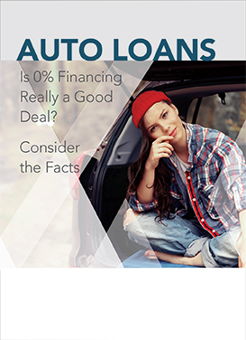 Auto 0% financing awareness campaign