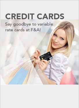 Credit cards non-variable rate awareness