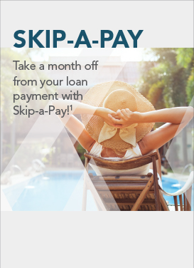 Image regarding the availability of F&A's Skip A Pay Program